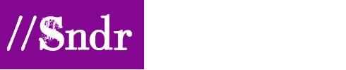 logo //Sndr